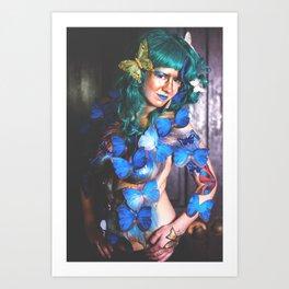 Butterfly V. Art Print