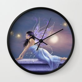 Twilight Shimmer Wall Clock