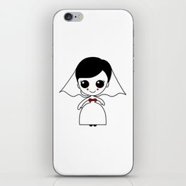 bride Marriage Wedding Hen Night Romantic Gift iPhone Skin