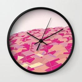 Cubes v3 Wall Clock