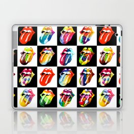 Colorful Rolling Stones Laptop & iPad Skin