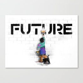 No Future Canvas Print
