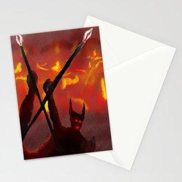 EN EL INFIERNO Stationery Cards