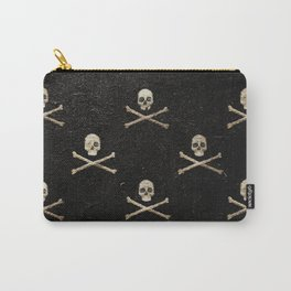 Skulls & Crossbones - Square Carry-All Pouch