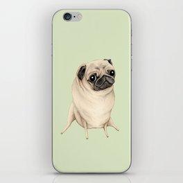 Sweet Fawn Pug iPhone Skin