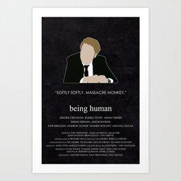 Being Human - Nick Cutler Art Print
