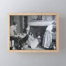 Apple Pie Baking Framed Mini Art Print