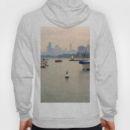 Lake by the City Hoody