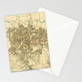 Vintage Map of Sao Paulo Brazil (1916) Stationery Cards