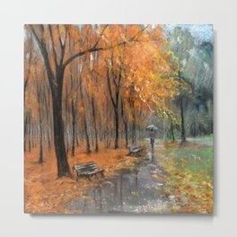 Autumn in the park # 2 Metal Print