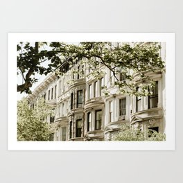 Between Columbus and Amsterdam Art Print