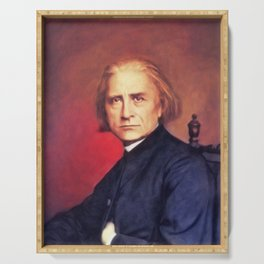 Franz Liszt, Music Legend Serving Tray