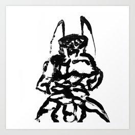 El rey de la caca Art Print
