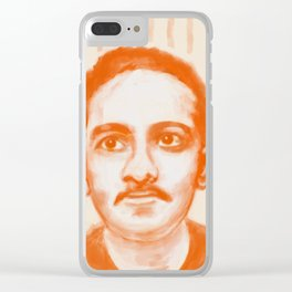 Portrait of Jibananda Das Clear iPhone Case