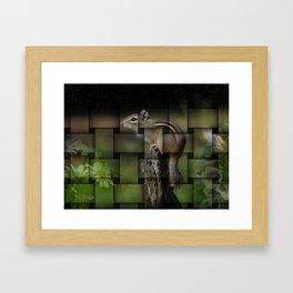 Woven Nature Framed Art Print