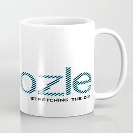 Swoozle Stretching The Cat Coffee Mug