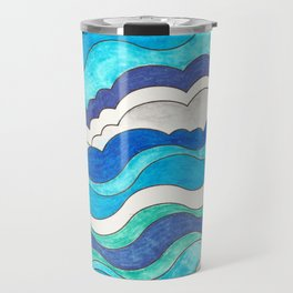 Make Waves II Travel Mug