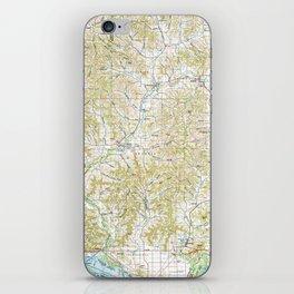 MN Winona 503695 1985 topographic map iPhone Skin