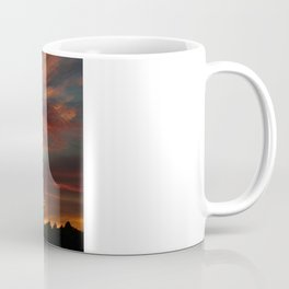 Later Reservoir Sunset Coffee Mug