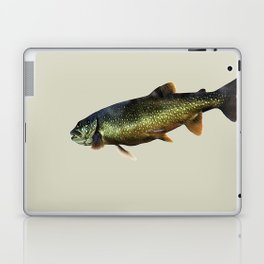 Trout on Beige Laptop & iPad Skin