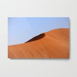 Sand Dunes Namibia Metal Print
