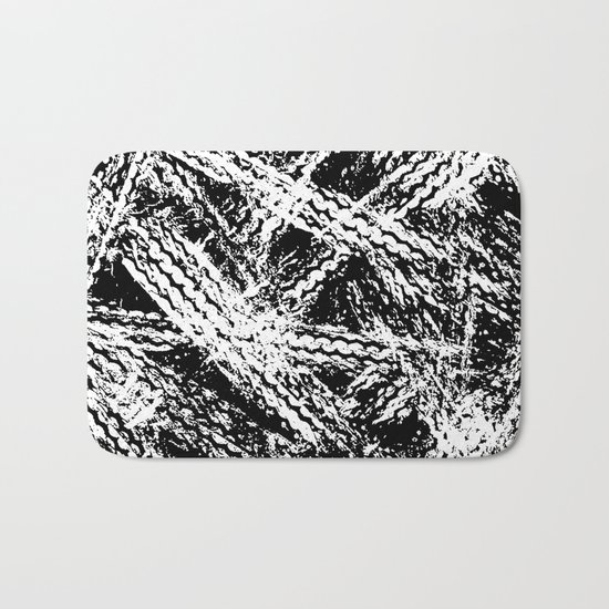 Desert Tracks Bath Mat