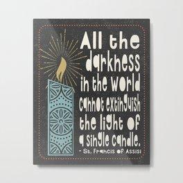 All the Darkness Metal Print