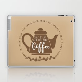 Stay up late. Get up early. Coffee. Laptop & iPad Skin