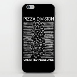 Pizza Division iPhone Skin