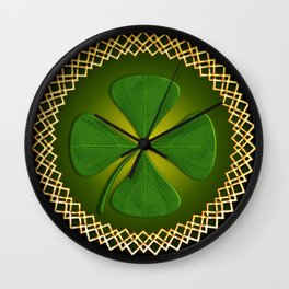 Celtic Sheild Wall Clock