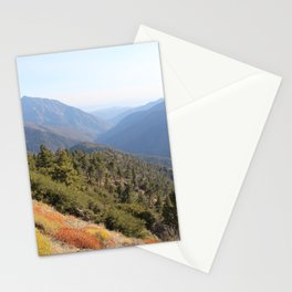 San Gabriel Mountains Stationery Cards