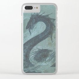 Hunting the Serpent - Book Cover Clear iPhone Case