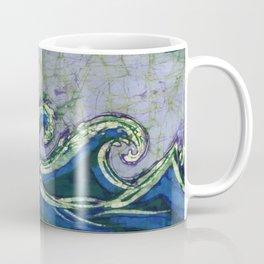 Batik waves 2 Coffee Mug