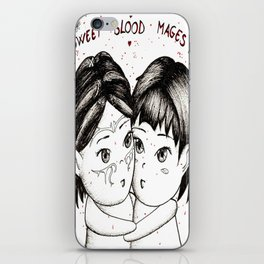 Sweet blood mages iPhone Skin