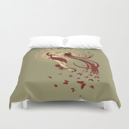 Madame Butterly Duvet Cover