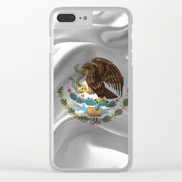 Mexico Flag Clear iPhone Case