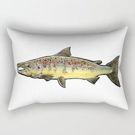 The atlantic salmon. Rectangular Pillow