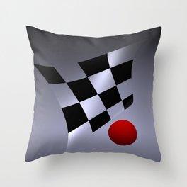bicubic waves -3- Throw Pillow