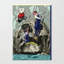 Ach Wo! Canvas Print