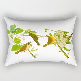 Yellow-breasted Warbler Bird Rectangular Pillow
