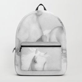 White Horses of the Camargue Backpack