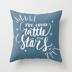 You Could Rattle the Stars - Throne of Glass Throw Pillow