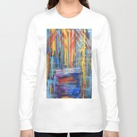 lovers Long Sleeve T-shirts featuring Lovers by Pluto00Art / Robin Brennan