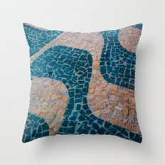 Color at the ground Throw Pillow