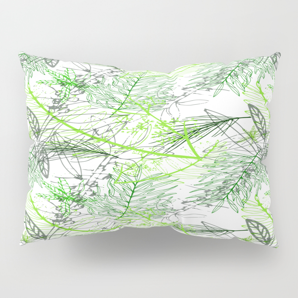 A Day In A Park Pillow Sham by Varbastudio PSH7642346
