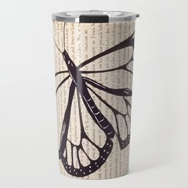 Butterfly in a Book Travel Mug
