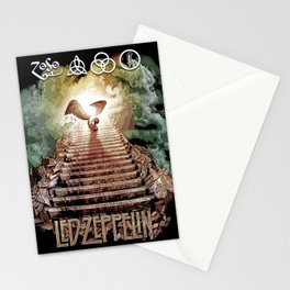 Red Zeppelin - Stairway to Heaven Stationery Cards