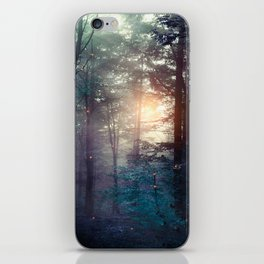 A walk in the forest iPhone Skin