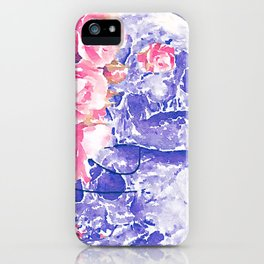 death, where is thy sting? iPhone Case