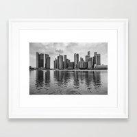singapore Framed Art Prints featuring SINGAPORE 10 by Tom Uhlenberg